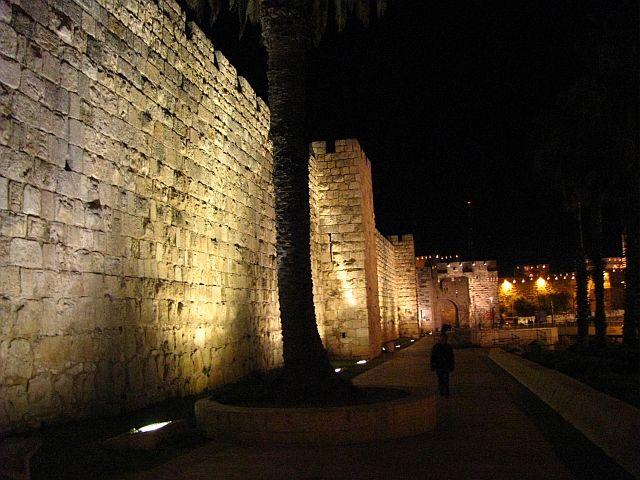 Zdjęcia: Jerozolima, Judea, Mury Jerozolimy, IZRAEL