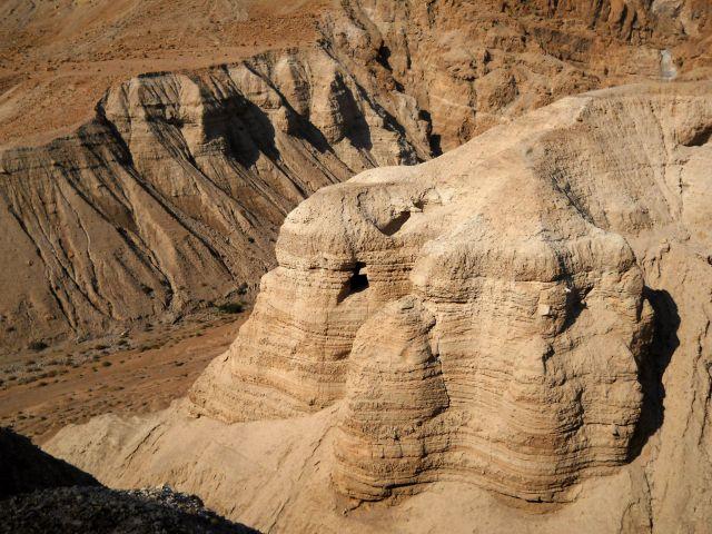 Zdjęcia: Zachodni Brzeg , jaskinia w Qumran, IZRAEL