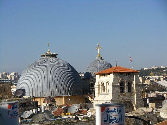 Zdjęcia: Jerozolima, Judea, Widok z dachu hostelu New Petra, IZRAEL