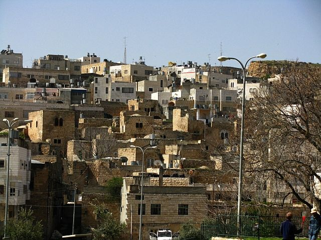 Zdjęcia: Hebron, Zachodni Brzeg, Domy w Hebronie, IZRAEL