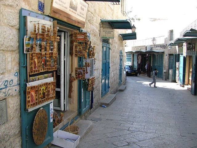 Zdjęcia: Betlejem, Judea, ulica Żłobka, IZRAEL