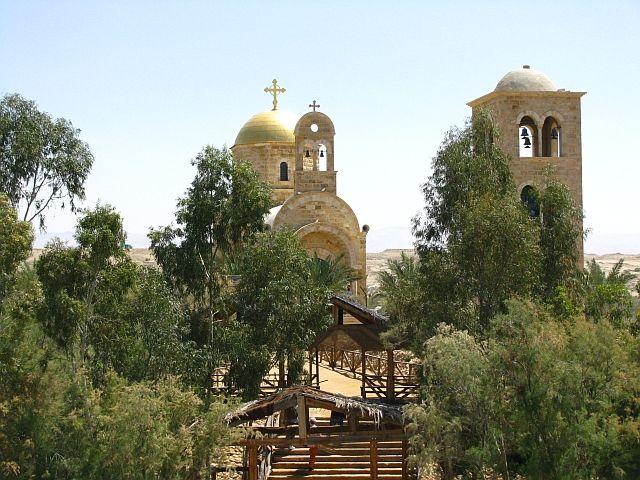 Zdjęcia: Jordan, Zachodni Brzeg, miejsce chrztu Chrystusa, IZRAEL