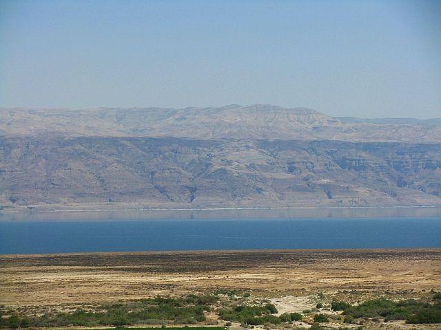 Zdjęcia: Qumran, Morze Martwe, panorama, IZRAEL