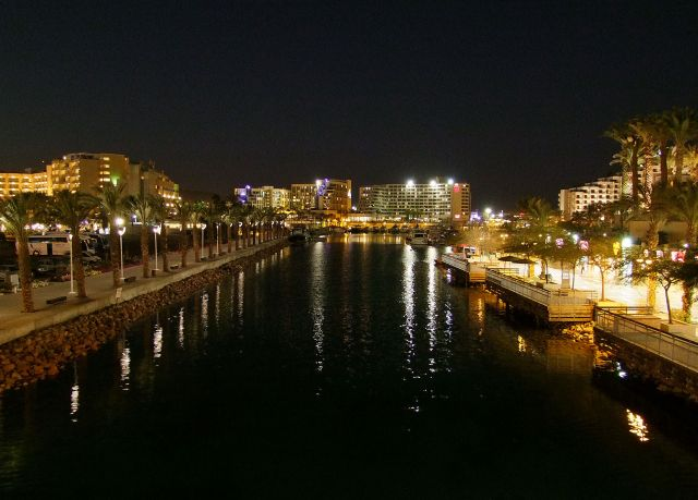 Zdjęcia: Dystrykt Poludniowy /  Eilat, hotelowy kombajn, IZRAEL