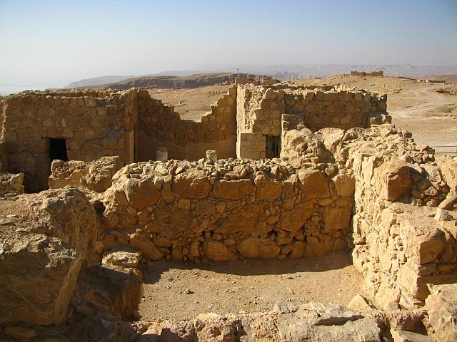 Zdjęcia: Masada, Morze Martwe, twierdza Masada, IZRAEL