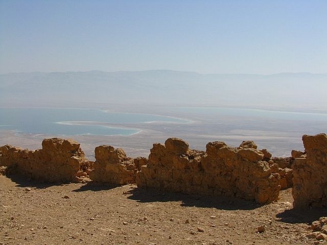 Zdjęcia: Masada, Morze Martwe, pustynia Judzka, IZRAEL