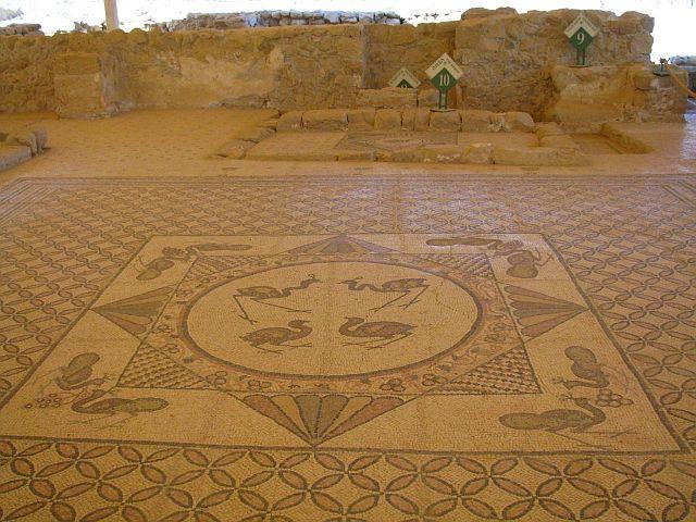 Zdjęcia: Park Narodowy Ein Gedi, Morze Martwe, synagoga, IZRAEL