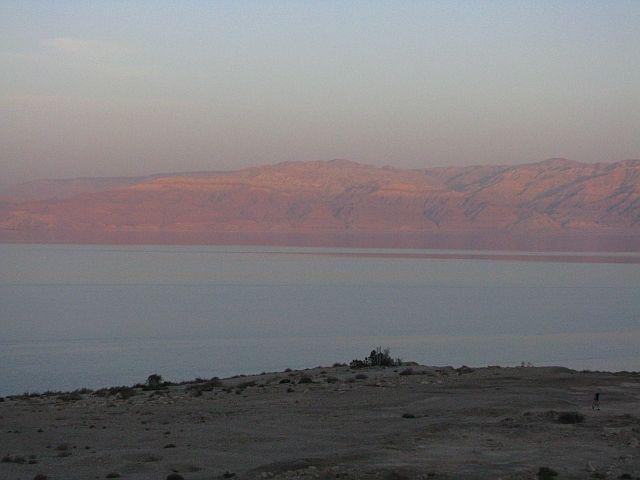 Zdjęcia: Park Narodowy Ein Gedi, Morze Martwe, Zachód słońca, IZRAEL