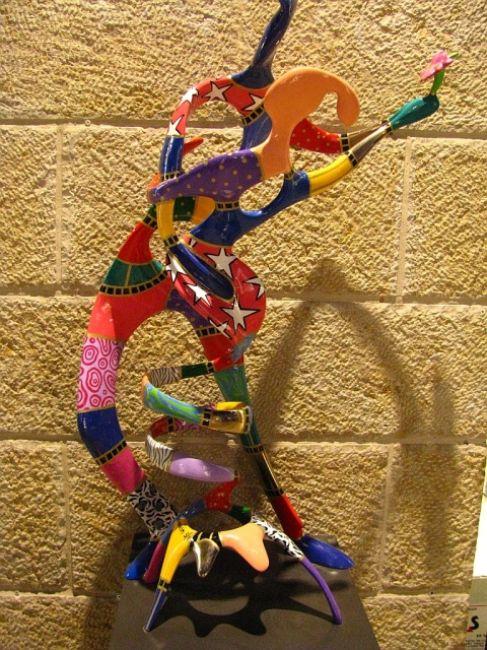 Zdjęcia: Mamilla, Jerozolima, uliczna rzeźba, IZRAEL