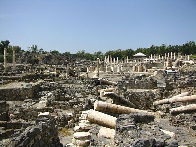 Zdjęcia: Beit Szean, Galilea, Scytopolis, IZRAEL