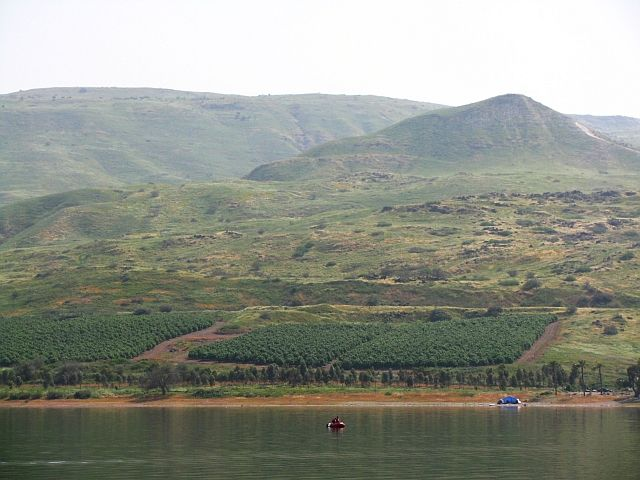 Zdjęcia: jezioro Genezaret, Galilea, wzgórza Galilei, IZRAEL