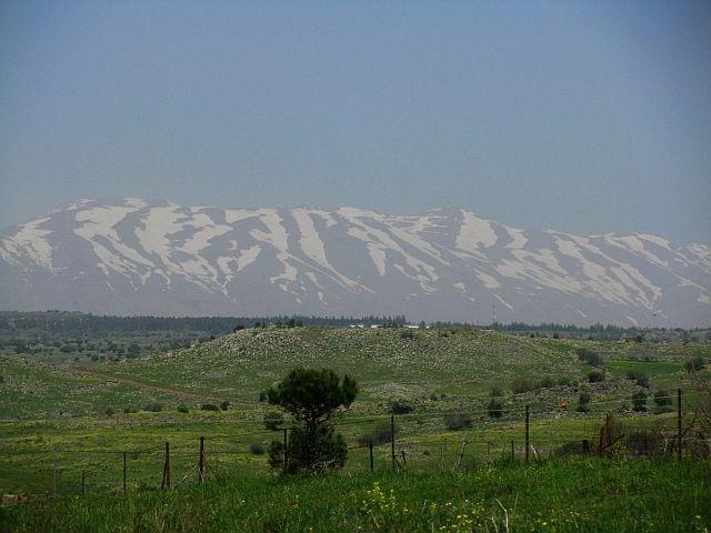 Zdjęcia: wzgórza Golan, Galilea, góra Hermon, IZRAEL