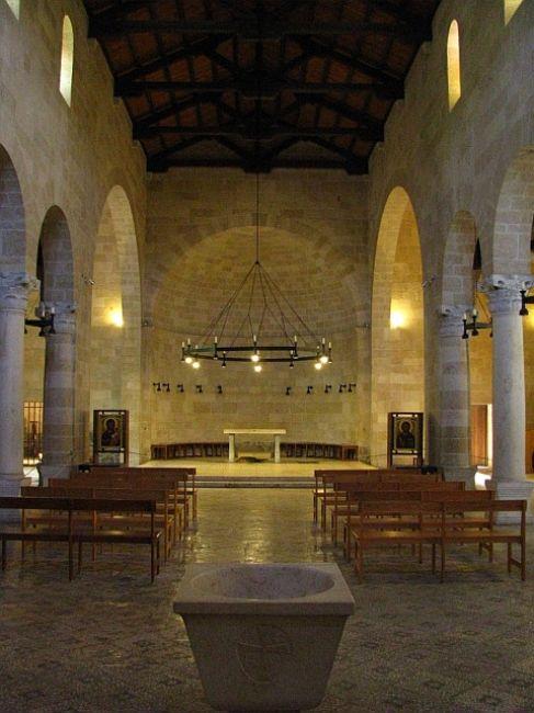 Zdjęcia: Ein Tabgha, Galilea, kościół Rozmnożenia, IZRAEL