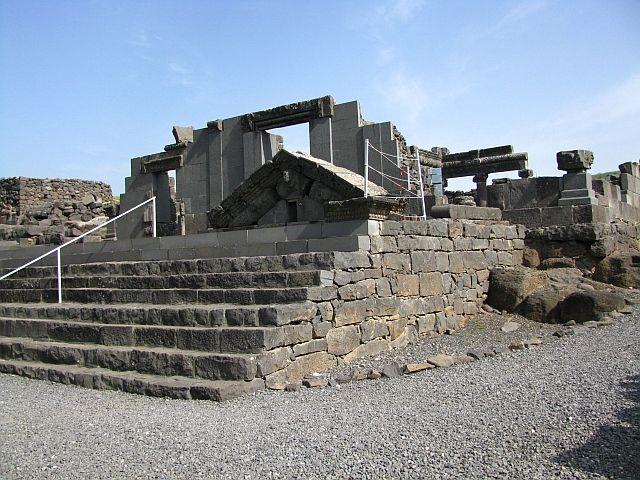 Zdjęcia: Korazim, Galilea, synagoga, IZRAEL