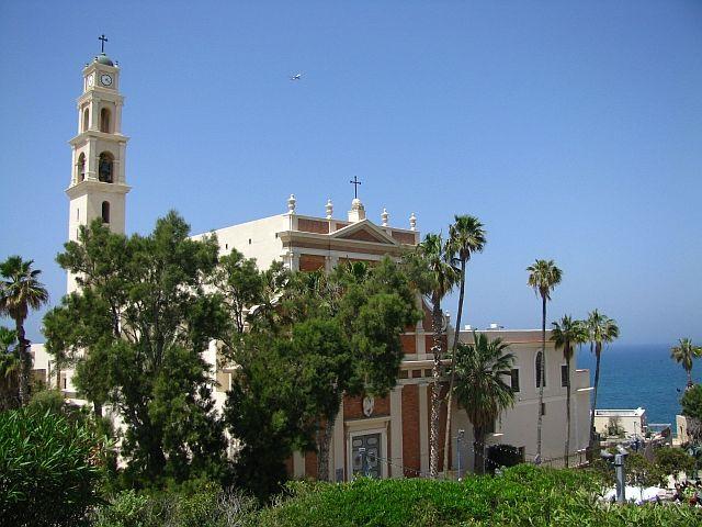 Zdjęcia: Jaffa, Tel Awiw, kościół Św. Piotra, IZRAEL