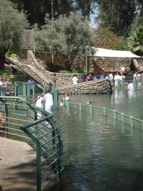 Zdjęcia: RZEKA JORDAN, CHRZEST W JORDANIE, IZRAEL