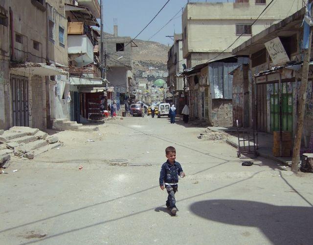Zdjęcia: Obóz dla uchodźców Balata obok Nablusu, Palestyna, Uchodźcy, IZRAEL