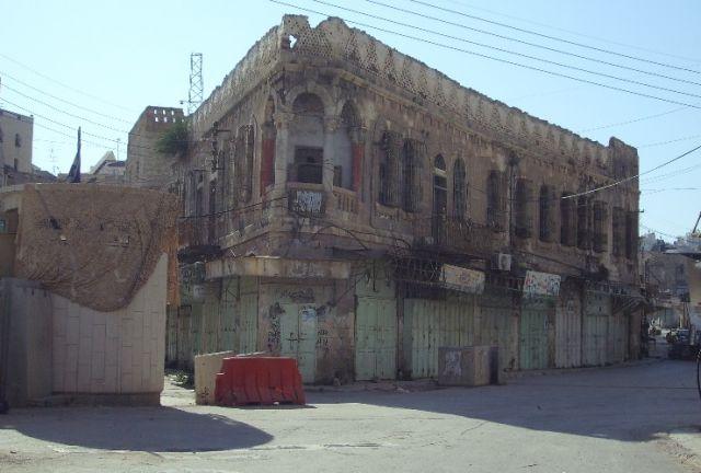 Zdjęcia: Hebron, Palestyna, Zniszczenia, IZRAEL