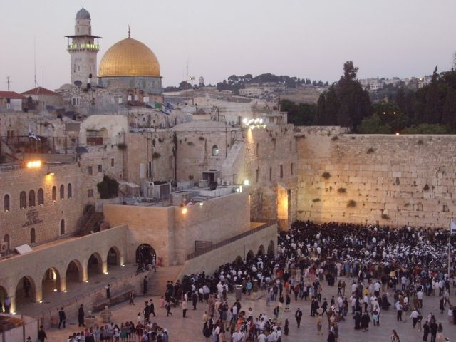Zdjęcia: Jerozlima, Palestyna, Piątkowy wieczór, IZRAEL