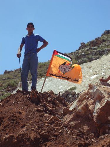Zdjęcia: Artas, Palestyna, Demonstracja, IZRAEL