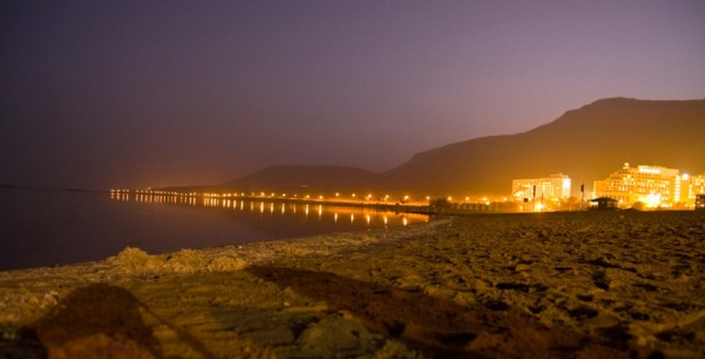 Zdjęcia: Ejlat, Morze Czerwone, Ejlat nocą , IZRAEL