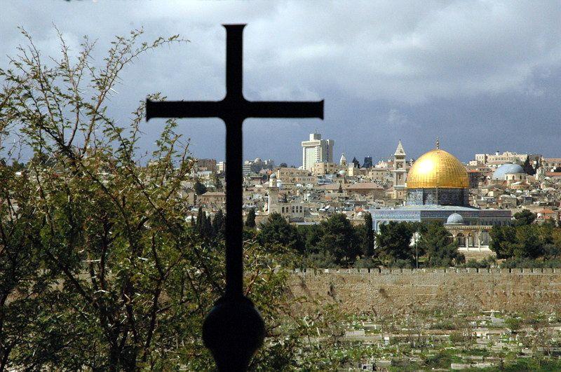 Zdj�cia: Jerozolima, Widok z G�ry Oliwnej, IZRAEL