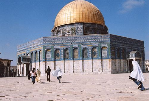 Zdjęcia: Jerozolima, Zloty meczet, IZRAEL