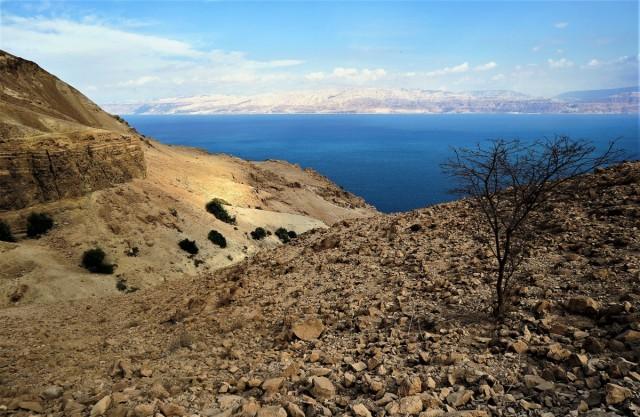 Zdjęcia: Ein Gedi, Morze Martwe, Jordania na drugim brzegu, IZRAEL