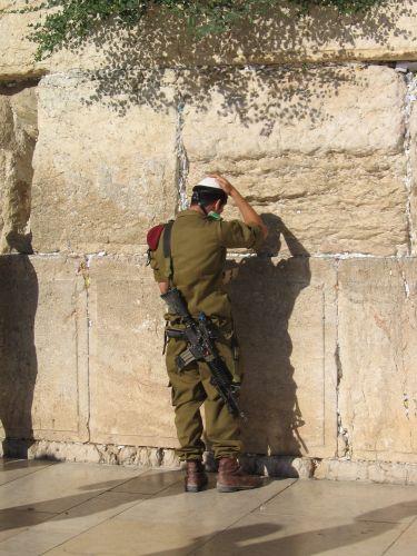 Zdjęcia: pod Ścianą Płaczu, Jerozolima, Przerwa w służbie, IZRAEL