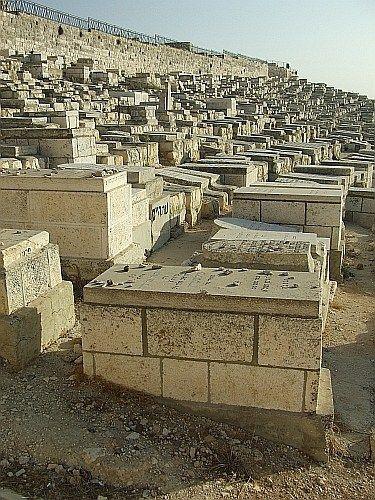Zdjęcia: Jerozolima, Jerozolima, Cmentarz żydowski, IZRAEL