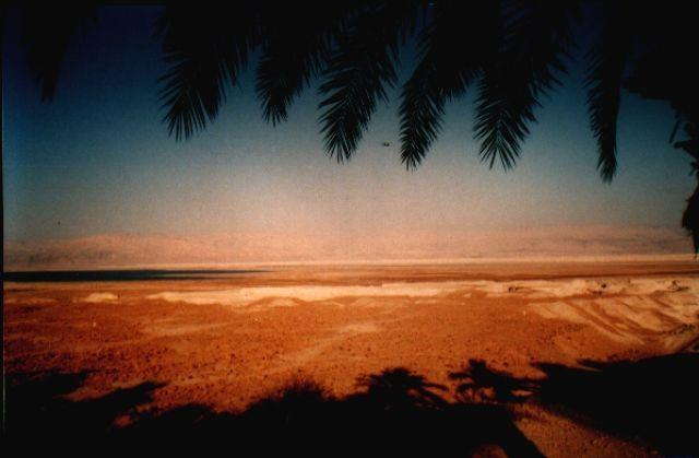Zdjęcia: widok na Jordanię, morze martwe, IZRAEL