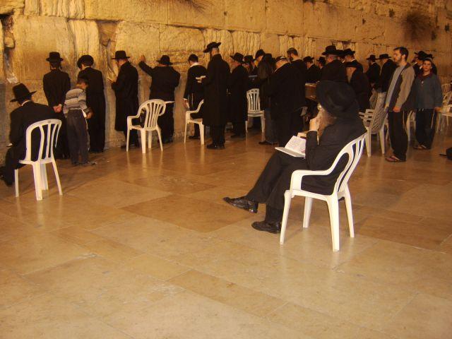 Zdjęcia: W mieście, Jerozolima, Ściana płaczu strona męska, IZRAEL