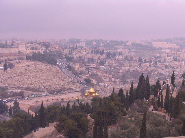 Zdjęcia: Jerozolima, Jerozolima, Jerozolima we mgle, IZRAEL