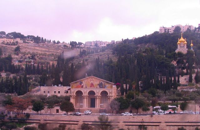Zdjęcia: Jerozolima, Jerozolima, Jerozolima z okna autokaru, IZRAEL