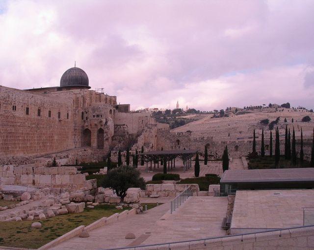 Zdjęcia: Jerozolima, Jerozolima, Cmentarz w Jerozolimie, IZRAEL