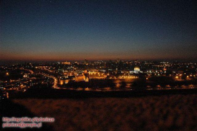 Zdjęcia: Jerozolima, Jerozolima, Jerozolima nocą, IZRAEL