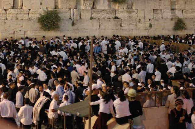 Zdj�cia: Jerozolima, Rozpocz�cie szabatu, IZRAEL