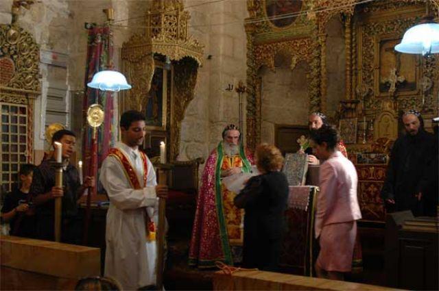 Zdjęcia: Jerozolima, Izrael, Chrzest u Syrojakobitów, IZRAEL