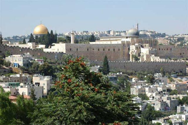 Zdjęcia: Jerozolima, widok z Góry Oliwnej, IZRAEL