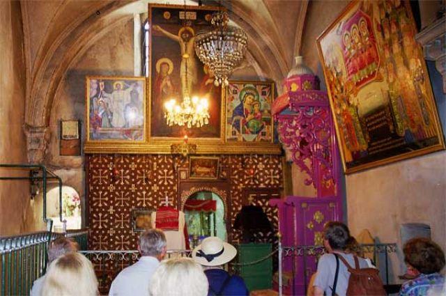 Zdjęcia: Jerozolima, w Kościele Etiopskim, IZRAEL