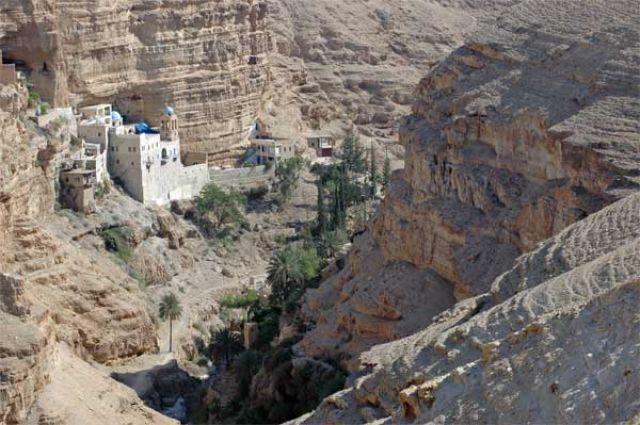 Zdjęcia: Pustynia Judzka, Klasztor Św. Jana Koziby, IZRAEL