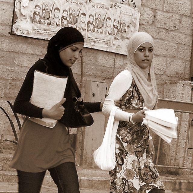 Zdjęcia: Betlejem, studentki, IZRAEL