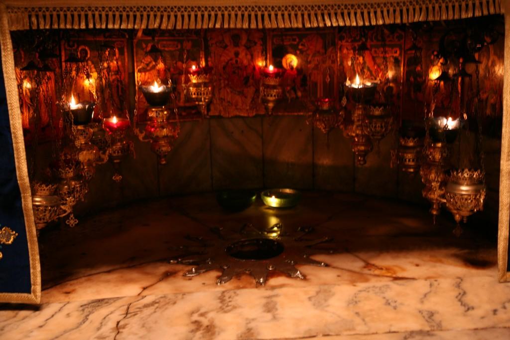 Zdjęcia: Betlejem, Palestyna, Grota Narodzenia, w dolnej części betlejemskiej świątyni, IZRAEL