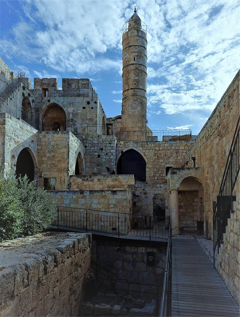 Zdjęcia: Cytadela Dawida, Jerozolima, Minaret, IZRAEL