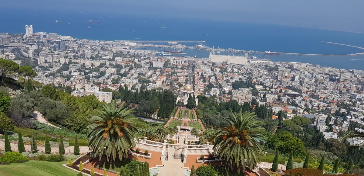 Zdjęcia: Bahia gardens, Hajfa , Ogrody , IZRAEL