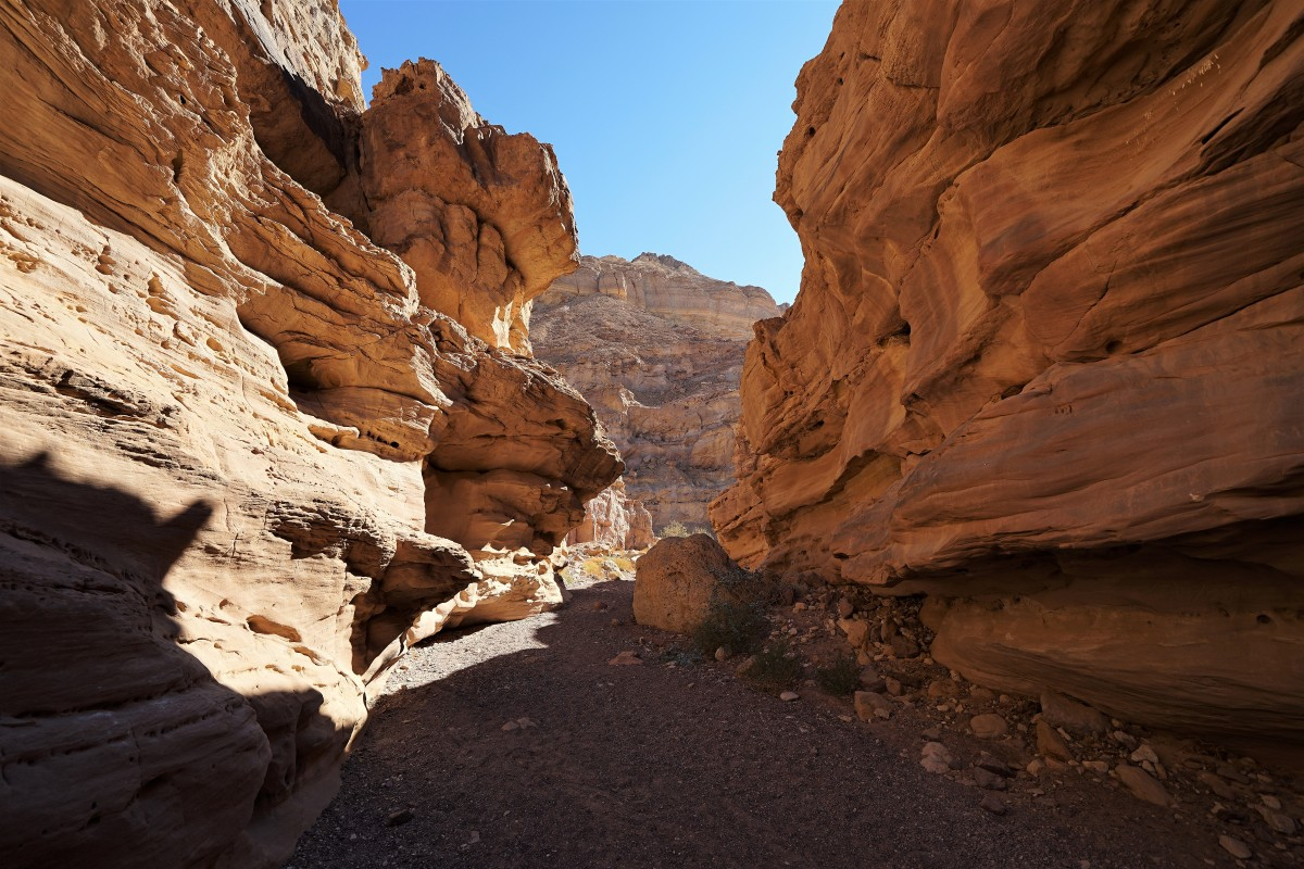 Zdjęcia: ., Eilat, Kanion Wadi Shani, IZRAEL