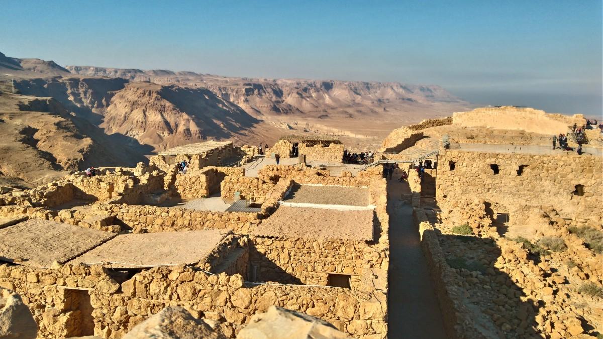 Zdjęcia: ruiny, izrael, Masada, IZRAEL