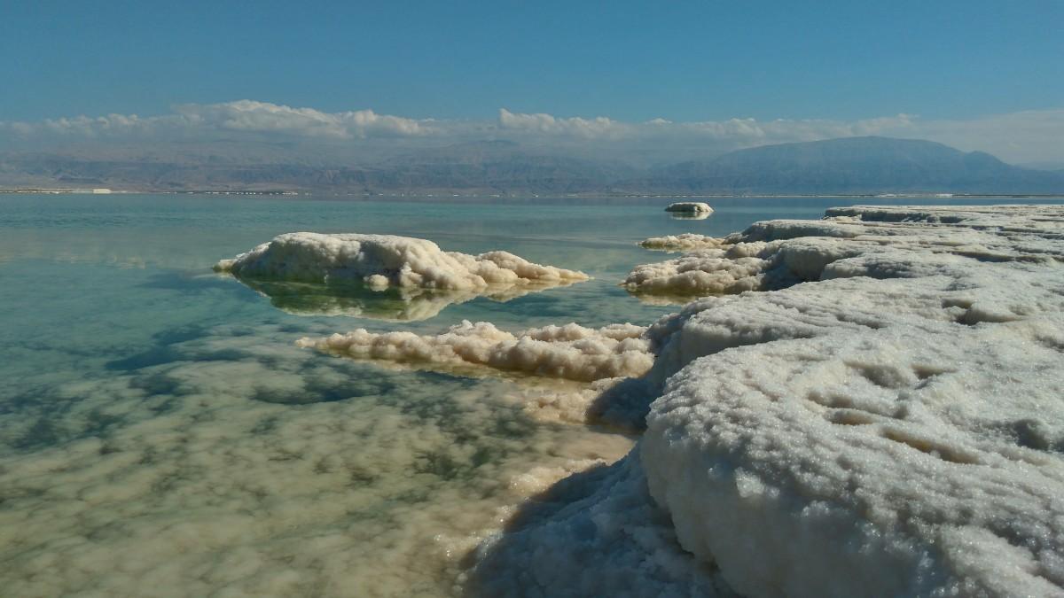 Zdjęcia: Morze martwe, Ein Bokek , morze martwe ..., IZRAEL