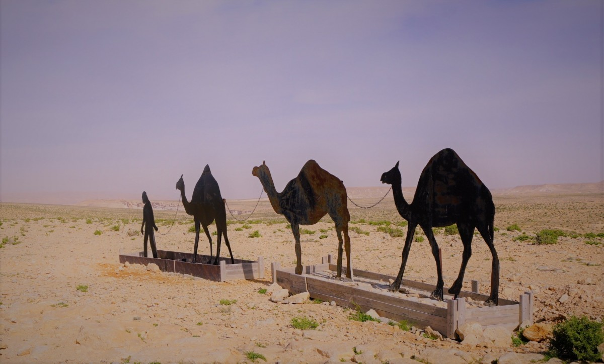 Zdjęcia: Park Narodowy Avdat, Pustynia Negew, Niedokończone dzieło, IZRAEL