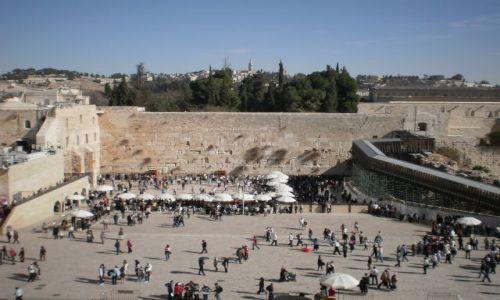 Zdjecie IZRAEL / - / Jerozolima / Ściana/Mur Płaczu